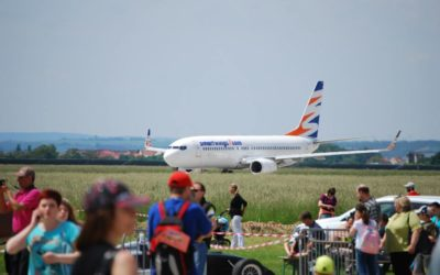 Children's day at the Brno airport visited thousands of visitors