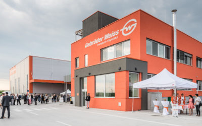 Gebrüder Weiss inaugurated the logistics center in Syrovice at Brno