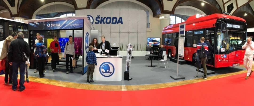 Expozice Škoda Electric