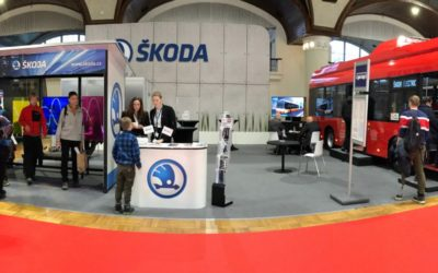 We are on the box!! The Škoda Electric took home bronze from the Czechbus fair.
